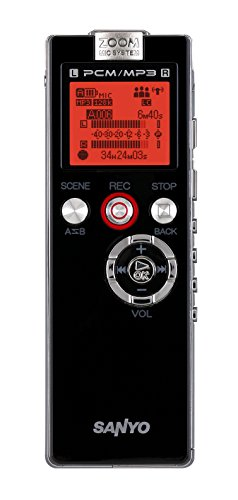 Sanyo Sanyo Voice Recorder Usb 2Gb Speed Control 26Hrs Recording Ref Icr-Eh800D