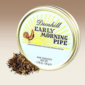 Dunhill Pipe Tobacco (habano757: DUNHILL EARLY MORNING TIN holds 50 grams Same shipping costs no matter how much you buy.)