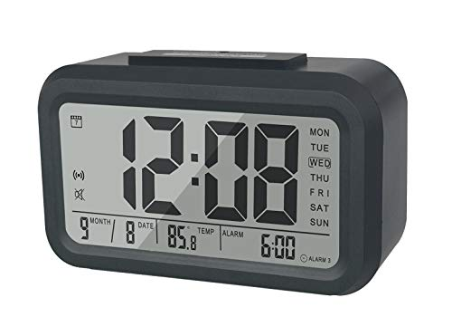 BESTWYA Smart Alarm Clock,Talking Clock with 3 Alarms, for sale  Delivered anywhere in USA