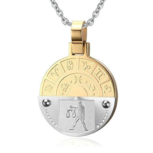 Titanium Chicago Cubs Necklace - 7