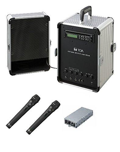 TOA 800MHz帯移動用ポータブルアンプシステム KZ-25A+WM-1220X2+WTU-1820 B06X9PTGBM