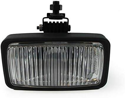 -Black Driver side WITH install kit LED 2015 International PROSTAR PLUS-LH Door mount spotlight 6 inch