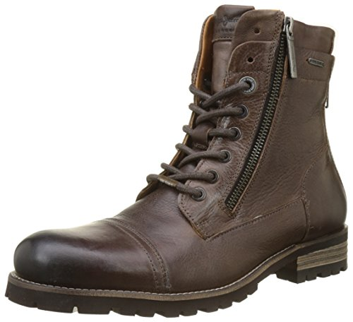 Pepe Jeans Men Melting Flex Classic Boots, 878-Brown Brown (Brown 878)