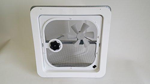 Ventline Rv Roof Vent White W 12 Volt Fan Putty Amp Screws