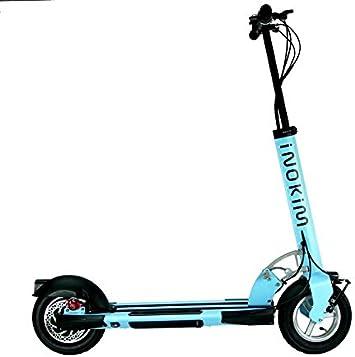 inokim quick-2 MyWay Scooter eléctrico bicicleta eléctrica portátil plegable Mini 9 Ah/18 Ah recargable múltiples colores..., azul, 9 AH (22-25KM): Amazon.es: Deportes y aire libre