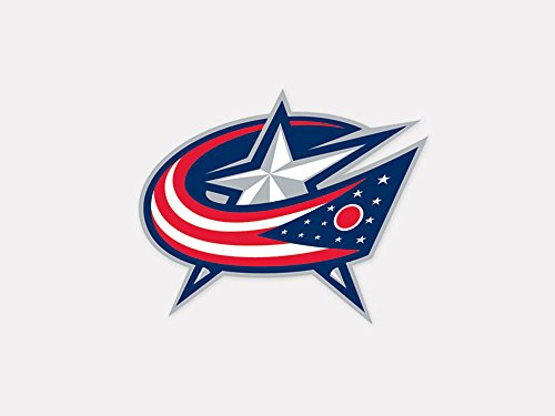 WinCraft NHL Columbus Blue Jackets Perfect Cut Color Decal, 4