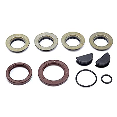 SCITOO TCK199 Timing Belt Kit Water Pump Set Valve Cover Gasket with Spark Plug Tube Seals fit 87-01 Toyota 2.0L 2.2L DOHC 3SFE 5SFE: Automotive