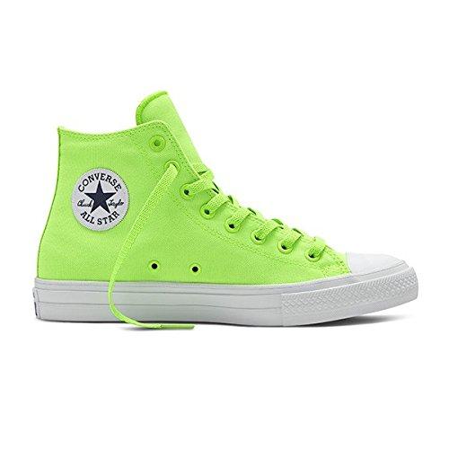 Converse Chuck Taylor All Star II Neon - Zapatillas de baloncesto unisexparaadulto, verde, 11.5