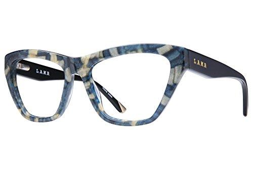 L.A.M.B. By Gwen Stefani LA009 Women's Eyeglass Frames - Navy Gold