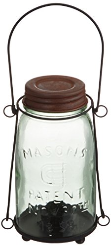 Your Heart's Delight Canning Jar Lantern, 7-1/2 by 3-3/4-Inch