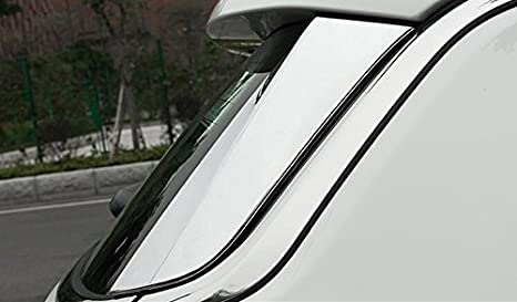 For Ford Explorer 2011-2016 2017 rear window side spoiler decorative cover trims