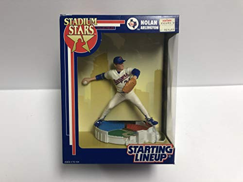 Limited Edition NOLAN RYAN Stadium Stars Texas Rangers Action Figure with Arlington Stadium Base