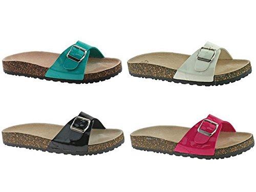 SFO - Sandalias de vestir de Material Sintético para mujer Blanco - blanco