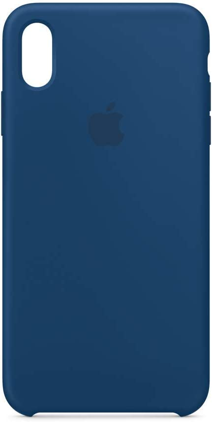 Apple Silicone Case (for iPhone Xs Max) - Blue Horizon