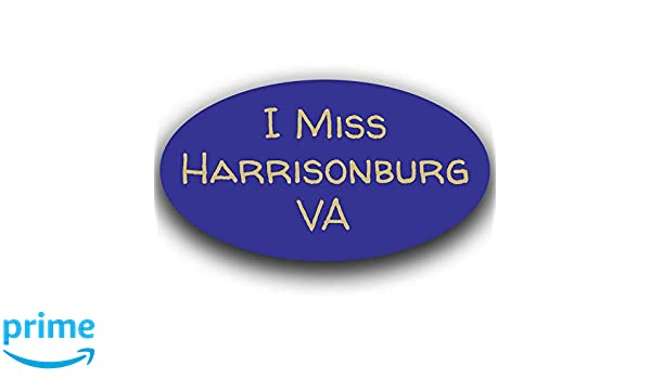 Richmond Virginia Oval Vinyl Decal Sticker Blue City Town College University