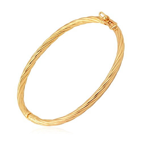 Womens Bracelet Jewelry Plated Twisted
