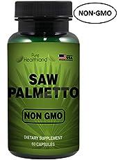 VERRINGERN SIE HÄUFIGE URINATION! GMO Frei Saw Palmetto Sägepalme Ergänzungskapseln für die Prostatagesundheit von Männern. Hohe Qualität und Wirksamkeit Prostata-Unterstützung