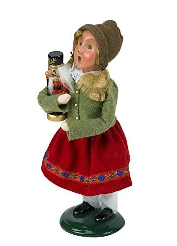 Byers' Choice Nutcracker Girl Caroler Figurine 4843D from The Christmas Market Collection Collection