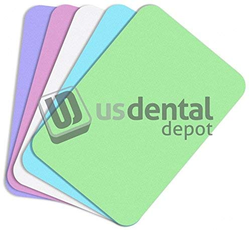 DEFEND- Tray Paper Covers 8.5 x 12.25 in - Green Bx 1000 # Mfg 100093 122514 Us Dental Depot