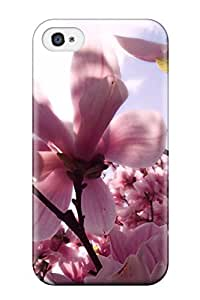 New Arrival KOyxVVF8418SuFqO Premium ipod Touch4 Case(magnolia Pink Spring Nature Flower)