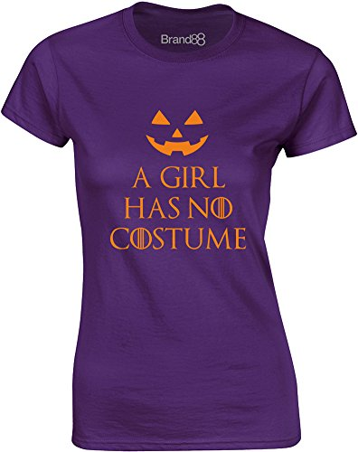 A Girl Has No Costume, Ladies Printed T-Shirt
