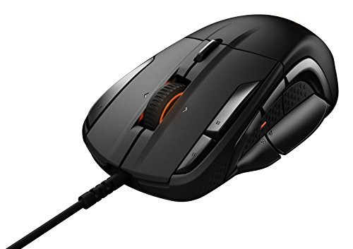 SteelSeries Rival 500 MMO / MOBA 15-Button Programmable Gaming Mouse - 16,000 CPI