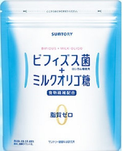 Suntory Bifidobacteria and Milk Oligosaccharides Digestive Supplement Sugarless Powder Pack of 30 Sticks (30 days)