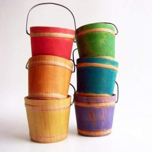 Rainbow Color Sorting Buckets