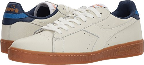 Diadora Unisex Game L Low Casual Shoes White/Saltire Navy GNGnYPicC5