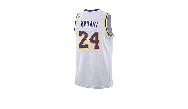 NBA L.A.Lakers Kobe Bryant # 24 Jersey De Baloncesto Para Hombres ...
