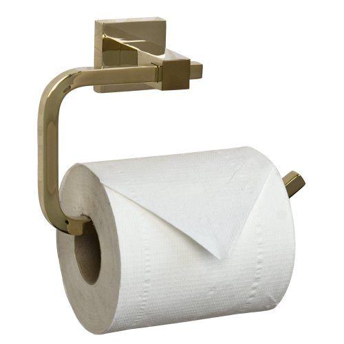 Barclay Products Jordyn Toilet Paper Ring Polished Brass