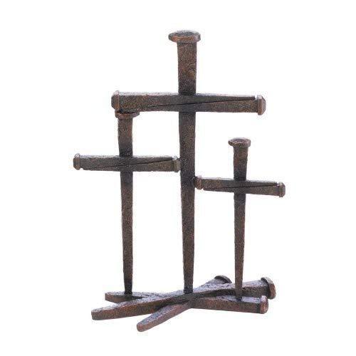 Home Locomotion Cross of Nails Trio Decor