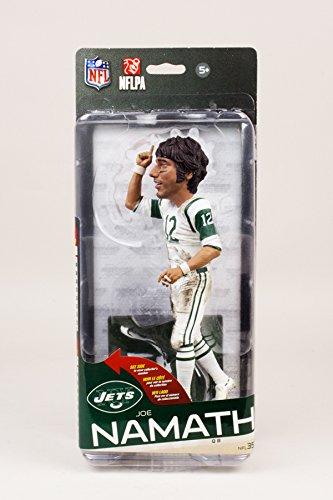 - McFarlane Joe Namath (New York Jets) NFL 35 Collector Level Bronze CHASE #/2000