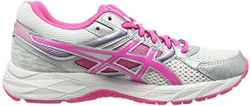 Asics Gel-contend 3, Damen Laufschuhe Weiß (white/hot Pink/indigo Blue 0134)