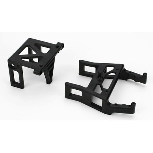 Team Losi Rear Bulkhead and Front Clip: Slider