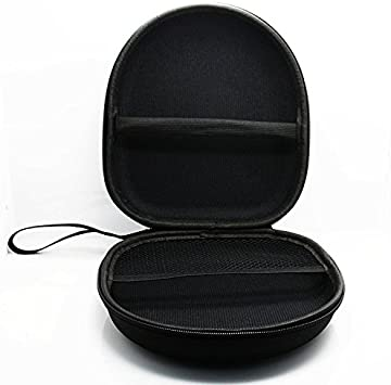 SODIAL 1pz Estuche Duro Almacenamiento para Auriculares Bolsa Bolso de Llevar Cable de Auriculares Caja de retencion de Tarjeta SD Negro: Amazon.es: Electrónica