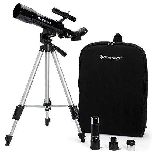 Celestron 21038 Travel Scope 50 Telescope (Black)
