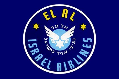El Al Israel Airlines I 16x24-inch Wall Decal