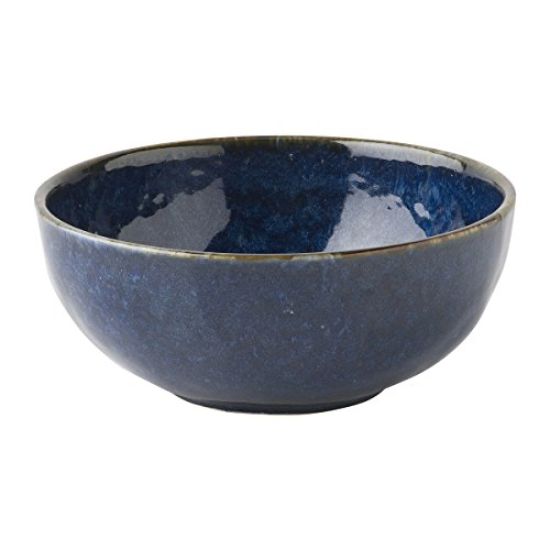 Juliska Puro Dappled Cobalt Cereal/Ice Cream Bowl -