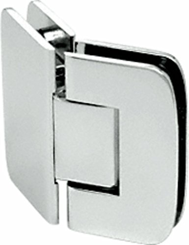 CRL Roman 045 Series Polished Nickel 135176; Glass-to-Glass Hinges ()