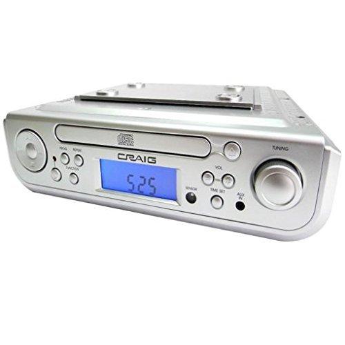 Craig Electronics Craig Under Cabinet CD Player Alarm Clo...