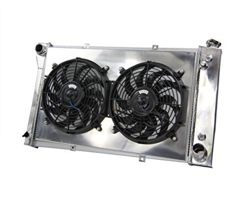 A/c Radiator Cooling Fan (Primecooling 3 Row Aluminum Radiator +12