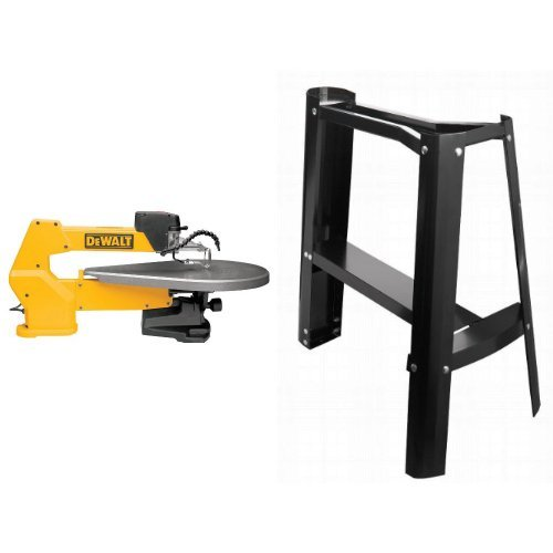 - DEWALT DW788 1.3 Amp 20-Inch Variable-Speed Scroll Saw with Scroll-Saw Stand