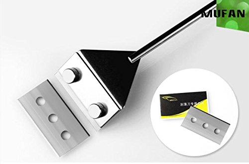 Acuario de cristal algas rascador limpiador de hoja de acero inoxidable–Maquinilla de afeitar CORALINA MUFAN QINGDAO Machinery Co. Ltd.
