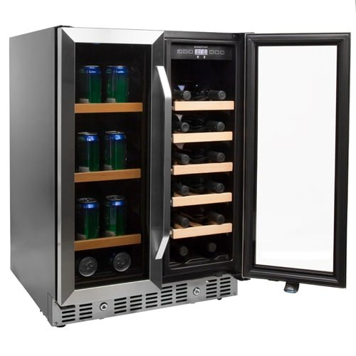 EdgeStar CWB1760FD 24 Inch Built-In Wine and Beverage Cooler with French Doors by EdgeStar (Image #6)