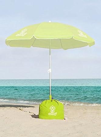 Ombrelloni Da Spiaggia Vendita.Porta Ombrellone Da Spiaggia Solboy Edizione Speciale Verde