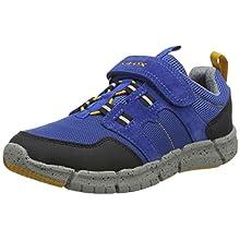 Geox J Flexyper Boy C, Zapatillas para Niños, Azul (Royal/Dk Yellow Ck42g), 37 EU