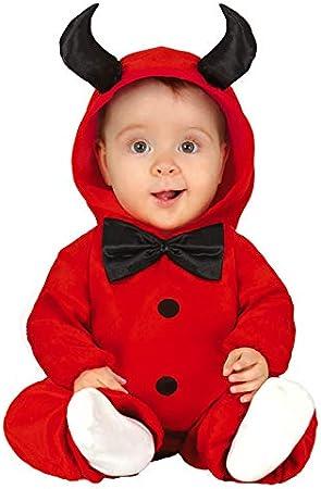 Delights Disfraz de Diablo Rojo de bebé Lindo de Halloween para ...