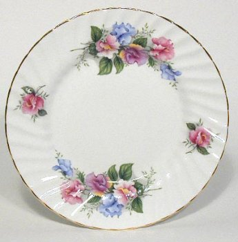 (British American Chinaware Bone China Dessert Plate 8