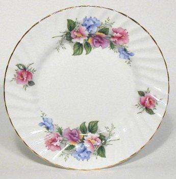 British American Chinaware Bone China Dessert Plate 8